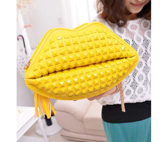 lovely_yellow_lips_rivets_handbag_bag_messenger_bag_messenger_bags_3.jpg