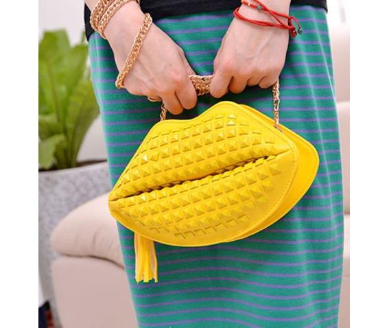 lovely_yellow_lips_rivets_handbag_bag_messenger_bag_messenger_bags_2.jpg