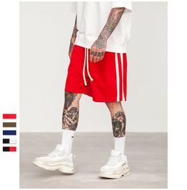 Men's Side Stripe Contrast Drawstring Shorts