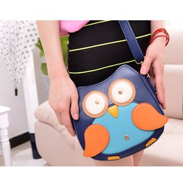 Personality Cartoon Owl Messenger Bag