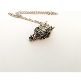 Large Dragon Head Necklace