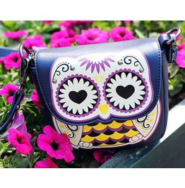 Personality Cartoon Owl Mini Messenger Bag