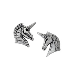 Unicorn Studs Ladies Gothic Earrings