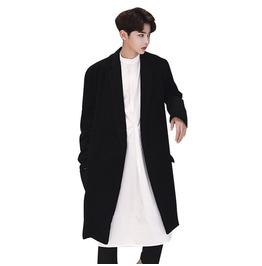 Casual Coat Wool Autumn Winter Mens