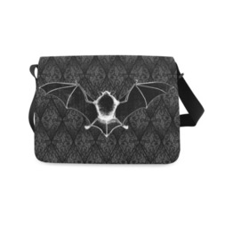 Bat Bones Messenger Bag