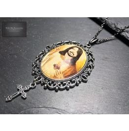 Celebrity Saint Necklace, Dave Grohl Foo Fighters, Lemmy, Samual L Jackson