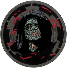 Darth Sidious Zombie Embroidered Patch 7.5cm Dia
