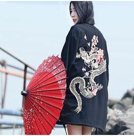 Dragon Jacket Kimono Wh182
