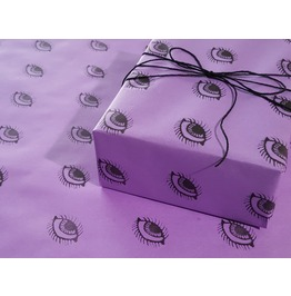 Purple Eyes Goth Gift Wrap