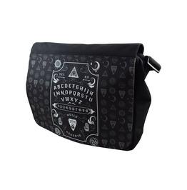 Ouija Board Messenger Shoulder Laptop Bag Occult Symbol Biker Metal Goth
