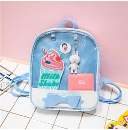 Transparent Backpack / Mochila Transparente Wh187