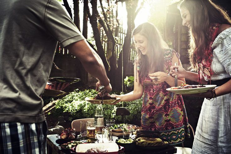 How to show alternative style at family barbecues