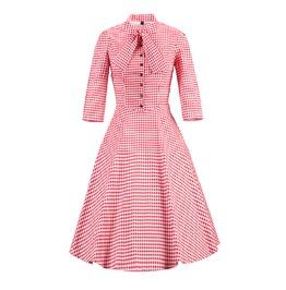 Retro Swing Vintage Style Women Dress