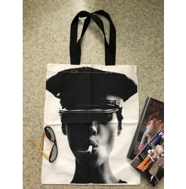Kate Moss Fashion New Wave Canvas Tote Bag