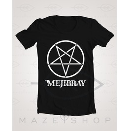 Mejibray Logo T Shirt The Gazette One Ok Rock Baby Metal Scandal Kamijo Alic
