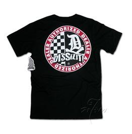 Classic Dissizit Dealer Authorized Men's Black T Shirt