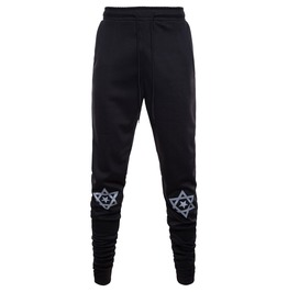 Men's Fashion Printed Elastic Fitness Drawstring Joggers Pants