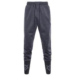 Men's Fashion Printed Slim Fitted Drawstring Joggers Pants