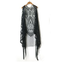 Women's Sexy Lace Fringed Irregular Sleeveless Vest