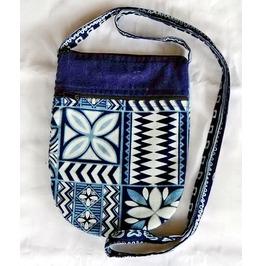 "Cute Hippie Boho Shoulder Zippered Tote Thai Fabric Purse 6.25"" X 8.25"""