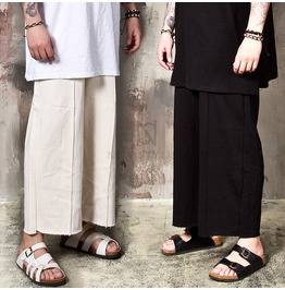 Pintuck Banding Wide Pants 212