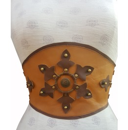 Steampunk Real Leather Belt