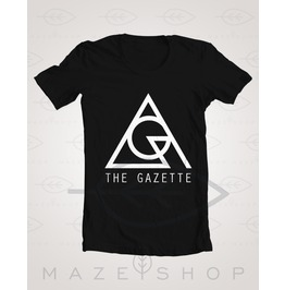 The Gazette Logo Black Moral Vermin T Shirt One Ok Rock Girugamesh Babymeta