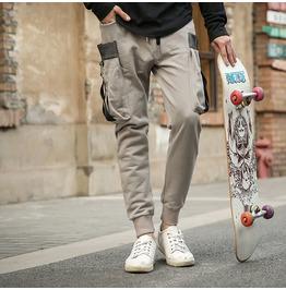 Streetwear Pockets Full Length Men Jogger