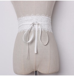 Waist Belt For Corset And Dress With Lace Details Women's Accessories Belt
