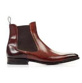 f5ab3a52c06 Men Brown Color Chelsea Boots