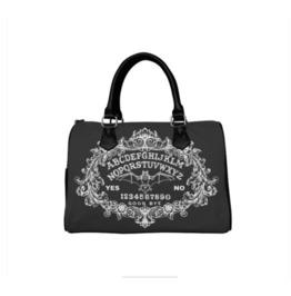 Ouija Board Bat Barrel Style Handbag