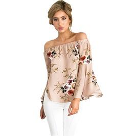 Urban Women's Off Shoulder Floral Printed Top