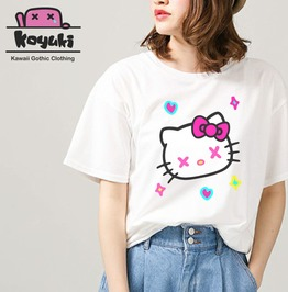 Hello Kitty Harajuku Pastel Tshirt Women