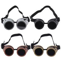 Steampunk Vintage Retro Brass Sunglasses