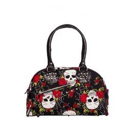Jawbreaker Gothic Skulls And Roses Print Bag