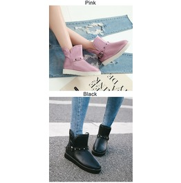 Ankle Boots Uggs Waterproof Comfy Women's Shoes