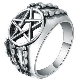 Metal Claw Pentagram Ring