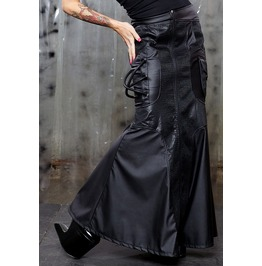 Lip Service Apocalyptic Cyber Punk Industrial Gothic Cybergoth Skirt
