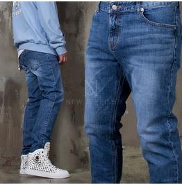 Washed Wrinkle Denim Jeans 378