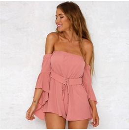 Summer Clubwear Playsuit Bodycon Party Jumpsuit&Romper Trousers
