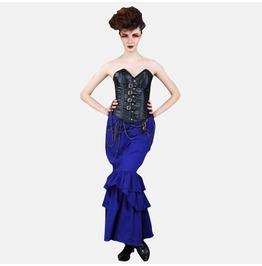 Steampunk Neo Victorian Gothic Fitzsimon 2 Pc Ensemble Dress S1039