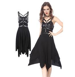 Rebelsmarket dw165 punk hoop design by dark in love dresses 15