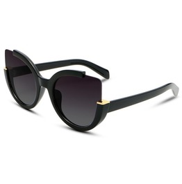 Cat Eye Sunglasses Women's Black Accessories