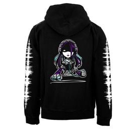 Vampirefreaks Headphone Girl Zipper Hoodie