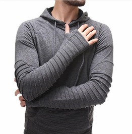Men's Hoodie Hooded Sweatshirt Tops Outwear Europe And America Fashion
