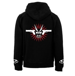 Vampire Freaks Muscle & Hate Zipper Hoodie