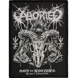Aborted God Of Nothing Patch 7cm X 10cm