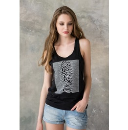 Pulsar As Used By Joy Division On Unknown Pleasures Minimal Print Tank Top