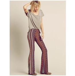 Summer Boho Hippie Wide Leg Tall Women Pant
