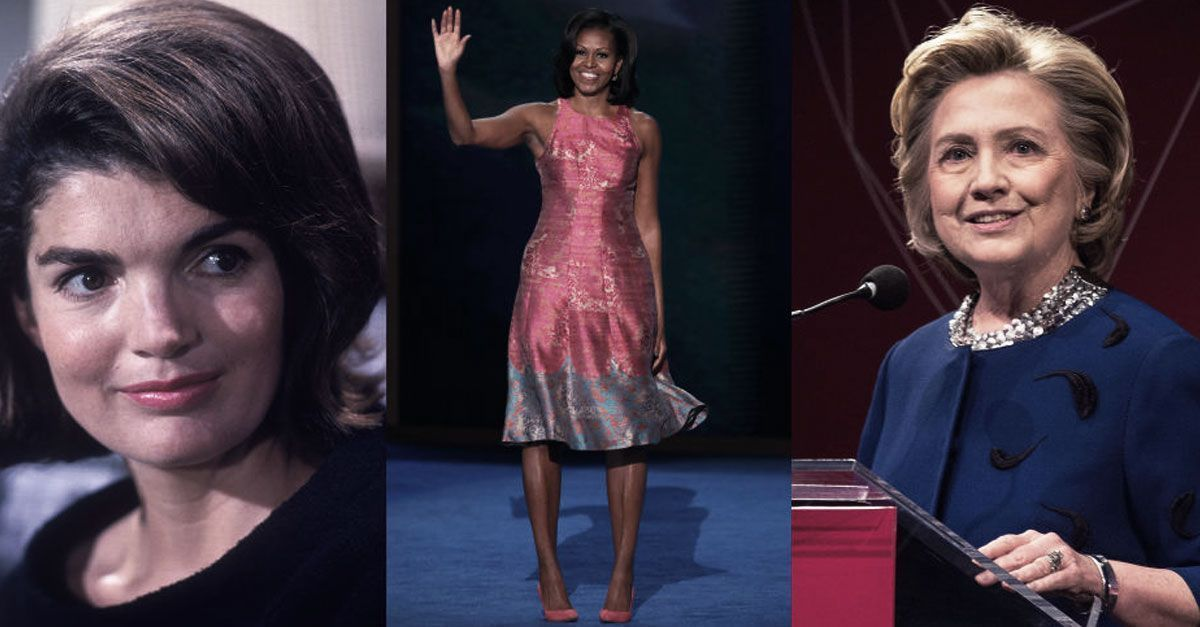 First Ladies Gone Wild! 8 Presidential First Ladies Who Took A Stand